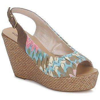 Schuhe Damen Sandalen / Sandaletten Sans Interdit RICO Multifarben