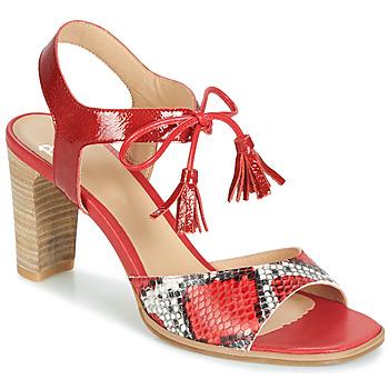 Scarpe Donna Sandali Perlato RUBY Rosso