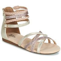 Schuhe Mädchen Sandalen / Sandaletten Bullboxer AED009 Gold / Rose