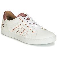 Schuhe Mädchen Sneaker Low Bullboxer AGM008 Weiss