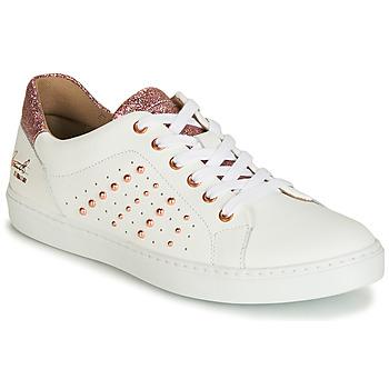 Schuhe Mädchen Sneaker Low Bullboxer AGM008 Weiß