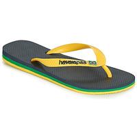 Schuhe Zehensandalen Havaianas BRASIL LAYERS Marine