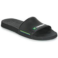 Chaussures Claquettes Havaianas SLIDE BRASIL Noir