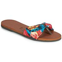 Chaussures Femme Tongs Havaianas YOU SAINT TROPEZ Fleuri