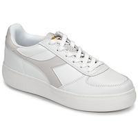 Schuhe Damen Sneaker Low Diadora B ELITE WIDE Weiß / Maulwurf