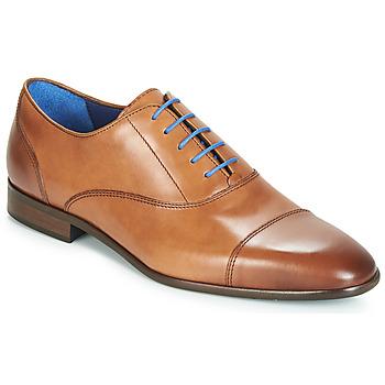 Chaussures Homme Richelieu Azzaro RAELAN Cognac