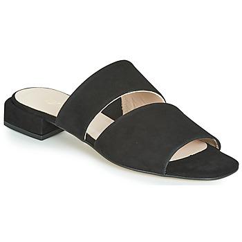Schuhe Damen Pantoffel Fericelli JANETTE Schwarz