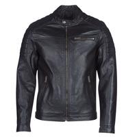 Vêtements Homme Vestes en cuir / synthétiques Jack & Jones JCOROCKY Noir