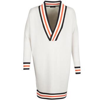 Vêtements Femme Pulls Maison Scotch WHITE LONG SLEEVES Blanc / Crème