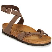 Schuhe Damen Sandalen / Sandaletten Birkenstock YARA Braun