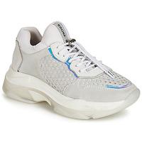 Schuhe Damen Sneaker Low Bronx BAISLEY Grau