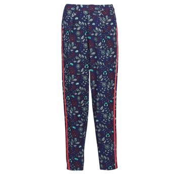 Abbigliamento Donna Pantaloni morbidi / Pantaloni alla zuava Kaporal BABY Marine / Multicolore