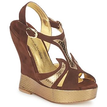 Schuhe Damen Sandalen / Sandaletten Terry de Havilland FARAH Schokolade