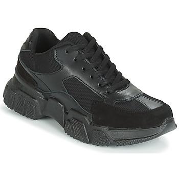 Chaussures Femme Baskets basses Yurban JILIBELLE Noir