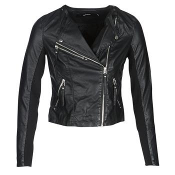 Abbigliamento Donna Giacca in cuoio / simil cuoio Vero Moda VMRIA FAV Nero