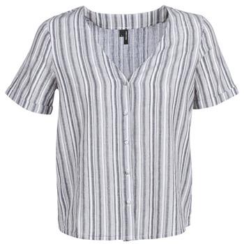 Abbigliamento Donna Top / Blusa Vero Moda VMESTHER Marine / Bianco