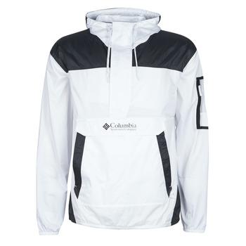 Vêtements Homme Coupes vent Columbia CHALLENGER WINDBREAKER Blanc / Noir