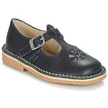 Schuhe Kinder Ballerinas Aster DINGO Marine