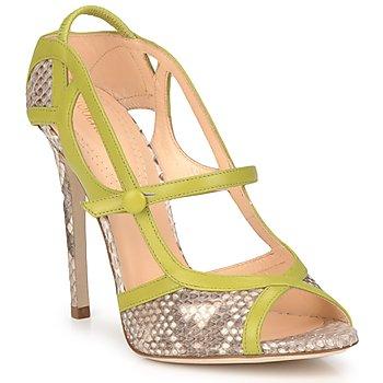 Schuhe Damen Sandalen / Sandaletten Roberto Cavalli RPS678 Grün