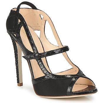 Schuhe Damen Sandalen / Sandaletten Roberto Cavalli RPS678 Schwarz