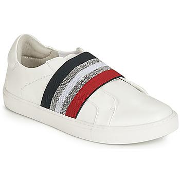 Schuhe Damen Slip on Elue par nous ESSORE Weiss