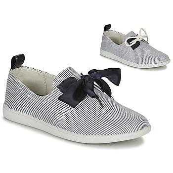 Schuhe Damen Sneaker Low Armistice STONE ONE Weiß / Marineblau