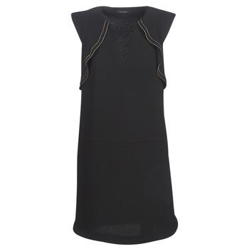 Kleidung Damen Kurze Kleider Ikks BN31075-02 Schwarz