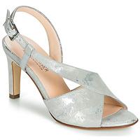 Schuhe Damen Sandalen / Sandaletten Peter Kaiser OPRAH Silbern