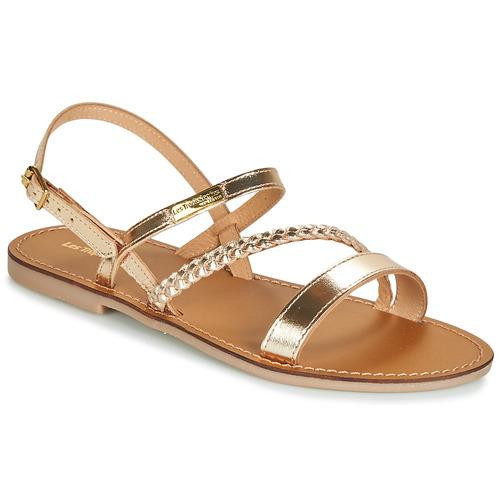 Schuhe Damen Sandalen / Sandaletten Les Tropéziennes par M Belarbi BATRESSE Golden