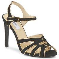Schuhe Damen Sandalen / Sandaletten Moschino MA1604 Schwarz
