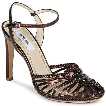 Schuhe Damen Sandalen / Sandaletten Moschino MA1603 Braun,