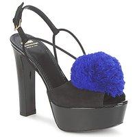 Scarpe Donna Sandali Moschino Cheap & CHIC CA1608 Nero-blu / Klein