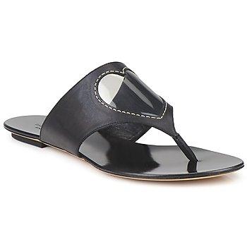 Schuhe Damen Zehensandalen Moschino Cheap & CHIC CALOTROPIS Schwarz