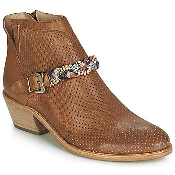 Schuhe Damen Boots Muratti DENISETTE Cognac