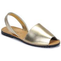 Chaussures Femme Sandales et Nu-pieds So Size LOJA Doré