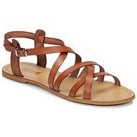 Chaussures Femme Sandales et Nu-pieds So Size IDITRON Marron