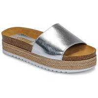 Schuhe Damen Pantoffel So Size JITRUNE Silbern