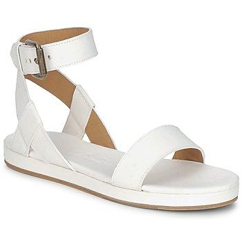 Schuhe Damen Sandalen / Sandaletten Rochas RO18002 Weiss