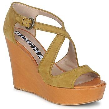 Schuhe Damen Sandalen / Sandaletten Rochas RO18131 Braun