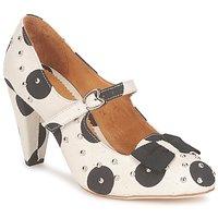 Chaussures Femme Escarpins Maloles CLARITA Blanc / Noir