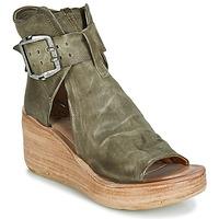 Schuhe Damen Sandalen / Sandaletten Airstep / A.S.98 NOA BUCKLE Kaki