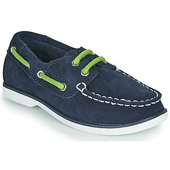 Chaussures Enfant Chaussures bateau Timberland SEABURY CLASSIC 2EYE BOAT Noir