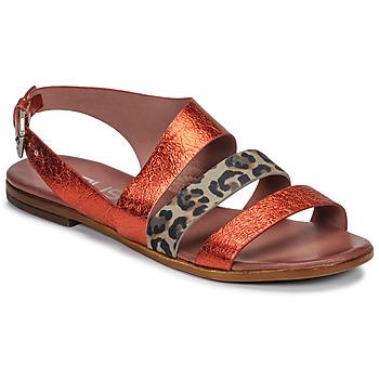 Chaussures Femme Sandales et Nu-pieds Mjus CHAT BUCKLE Rouge / Léopard