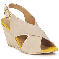 Schuhe Damen Sandalen / Sandaletten Pieces OTTINE SHOP SANDAL Maulwurf