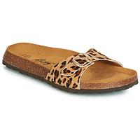 Schuhe Damen Pantoffel Betty London JIKOTI Braun