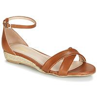 Schuhe Damen Sandalen / Sandaletten Betty London JIKOTIVE Kamel