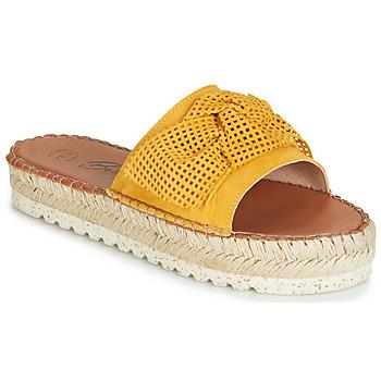 Schuhe Damen Pantoffel Betty London JIKOTIGE Gelb