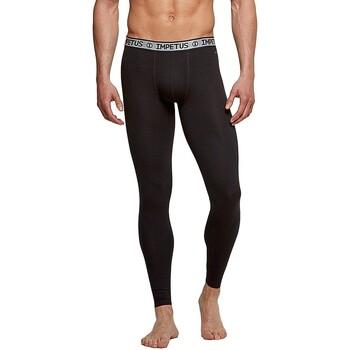 Vêtements Homme Leggings Impetus Caleçon long noir homme régule la température Noir