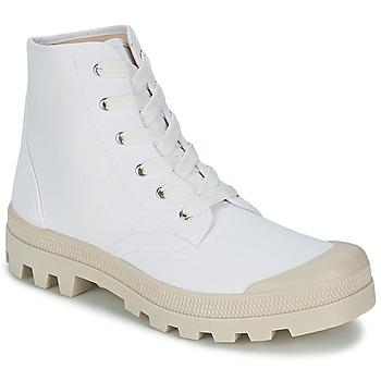 Scarpe Uomo Sneakers alte Casual Attitude MADIMA Bianco