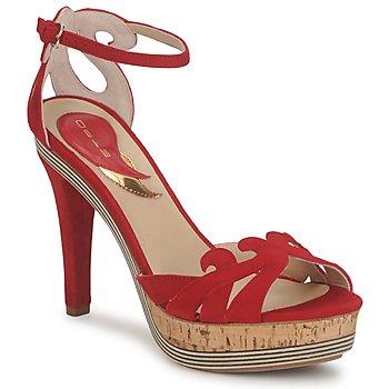 Schuhe Damen Sandalen / Sandaletten Etro 3488 Rot